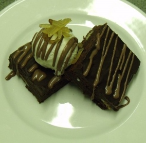 Jamaican Coffee Brownie