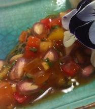 Tangy Mango and Pomegranate Salsa