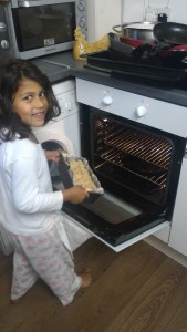 Bethany 'sCake Baking Tip - the oven has always to be pre heated.